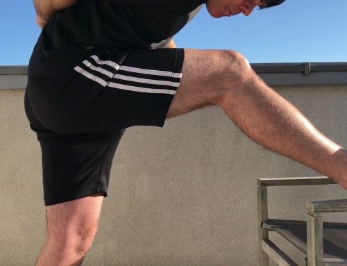 Hamstrings stretches – pre and post exercise