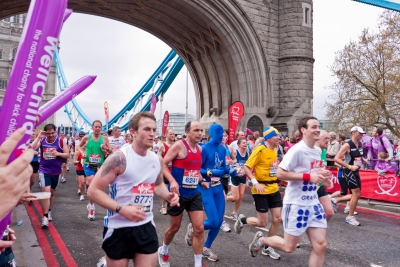 Super Fit London Marathon training blog picture
