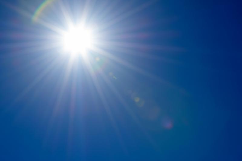 Sunshine and Blue Sky